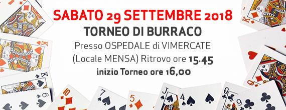 Torneo di Burraco – Ospedale di Vimercate – 29 Settembre